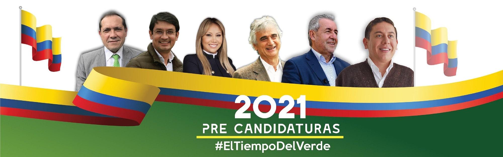 Precandidatos Presidenciales 2021